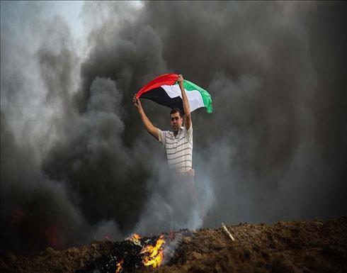 مواجهات بين الفلسطينيين والجيش الإسرائيلي على حدود غزة
