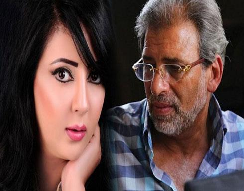 منى الغضبان تكشف أسرارًا جديدة بشأن فيديوهاتها المخلة مع خالد يوسف