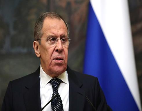 لافروف: موسكو قلقة من التوتر في شرق المتوسط