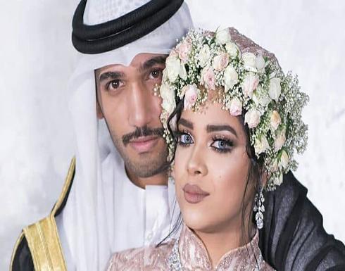 بالفيديو : مشاعل الشحي وأحمد خميس يقيمان حفل زفافٍ ثانٍ بعد عامين من زواجهما