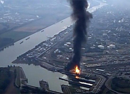 بالفيديو: مقتل شخص بانفجار داخل أكبر مصنع للكيميائيات في ألمانيا