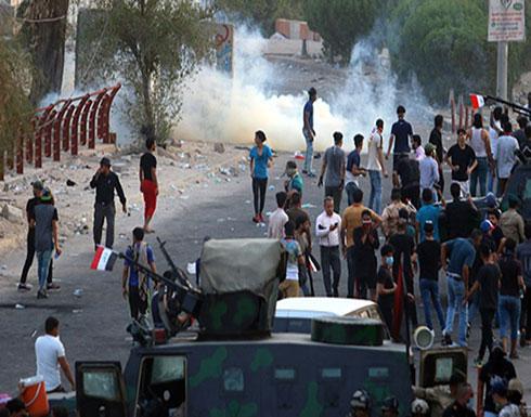"""""""الحشد"""" يهدد بالتصدي لمحتجين بالبصرة واعتبارهم كـ""""الدواعش"""""""