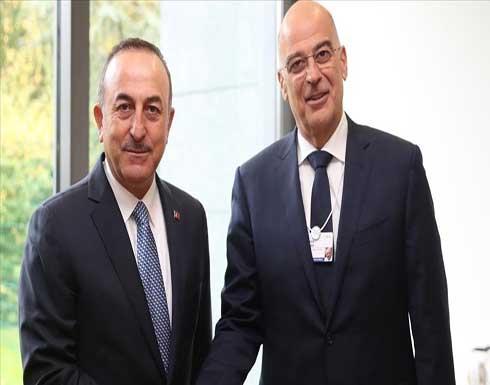 """وزير خارجية اليونان: أود لقاء """"نظيري وصديقي"""" تشاووش أوغلو"""