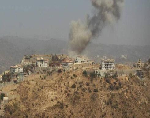 50 غارة للتحالف على مواقع الحوثيين في 4 محافظات يمنية
