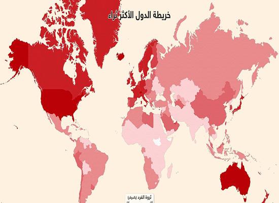 إنفوغرافيك.. أي شعوب العالم أكثر ثراء؟