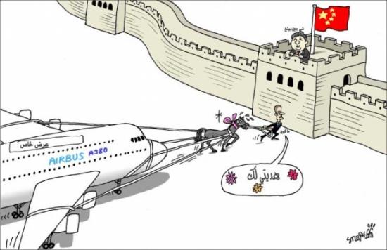 ماكرون في زيارة إلى الصين