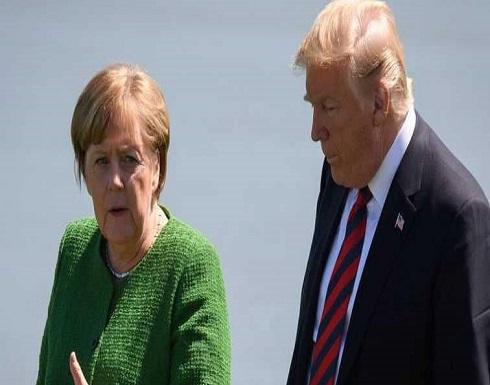"""ميركل تحذر ترامب من """"حرب"""" تجارية"""