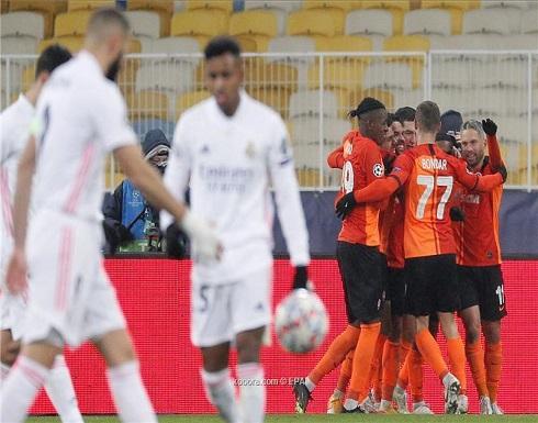 بالصور: شاختار يكرر تفوقه على ريال مدريد ويُشعل حسابات التأهل