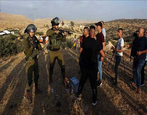 إسرائيل تقمع تظاهرة بالقدس و الأغوار و اصابة شخص على اثرها