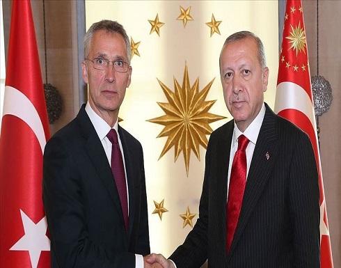 أردوغان لستولتنبرغ: على الناتو تحمل مسؤولياته تجاه الخطوات الأحادية شرقي المتوسط