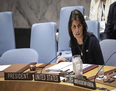 هايلي تتحدى المبعوث الأممي بشأن غزة في مجلس الأمن