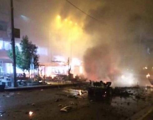 انفجار يستهدف سيارة تعمل في شركة للخدمات الأمنية وسط بغداد