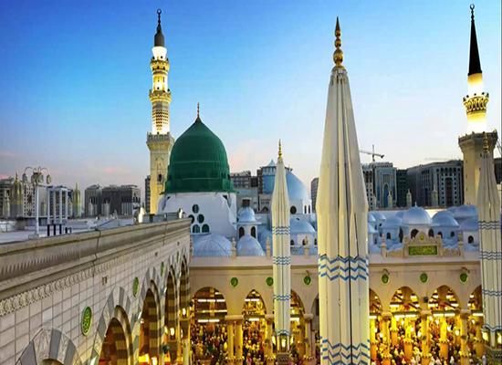 صورة: شاهد أول مصباح يضيء المسجد النبوي .. عمره اكثر من قرن