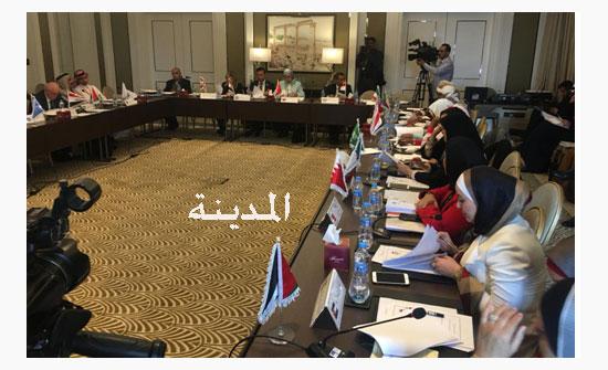 صور : اجتماع للجنة المرأة في الاتحاد البرلماني العربي في عمان