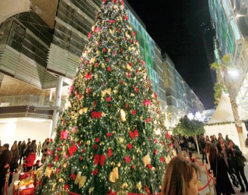 عيد الميلاد في إربد الأردنية.. لوحة سلام وتضامن