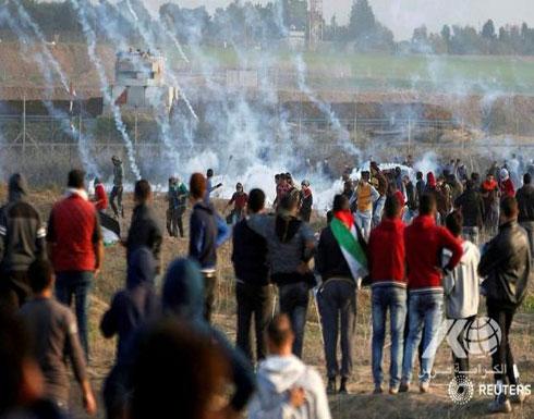 غزة : الجيش يتأهب  لقمع مسيرات العودة على السلك الحدودي