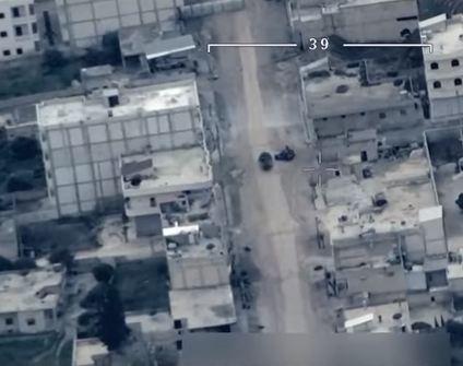 شاهد .. الجيش التركي يدمر مدفعاً للوحدات العمال الكردستاني في عفرين