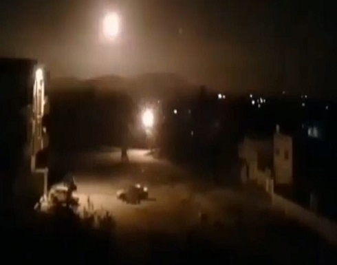 قصف إسرائيلي لمواقع النظام والميليشيات الإيرانية بدمشق
