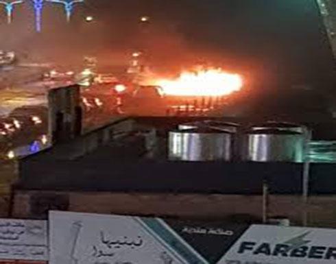 بالفيديو : بعد فترة من الهدوء النسبي.. تفجير سيارة مفخخة في الموصل