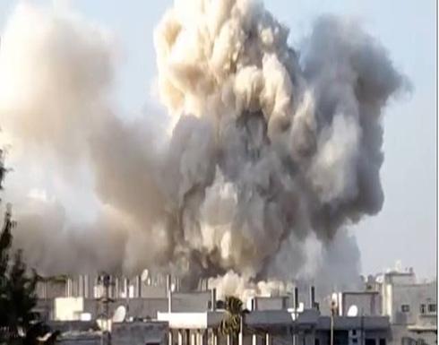غارات سورية وروسية عقب تقدم للمعارضة بدرعا