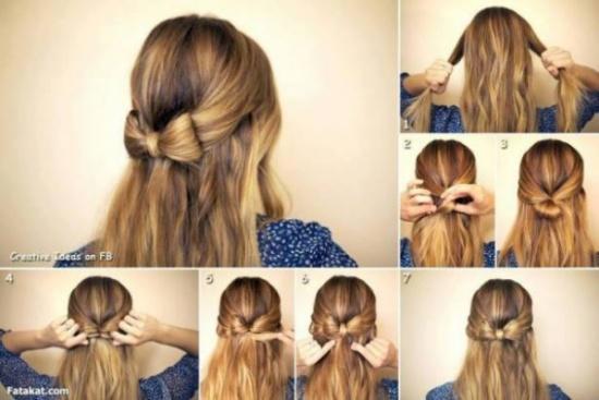 بالصور- اصنعي بنفسك أجمل تسريحات الشعر بخطوات سهلة!
