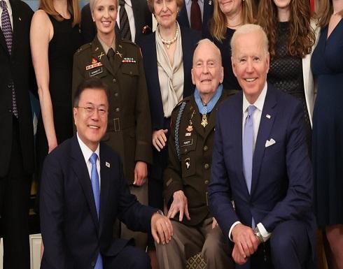كوريا الجنوبية وأمريكا يتفقان على تحالف قوي في محادثات القمة بينهما