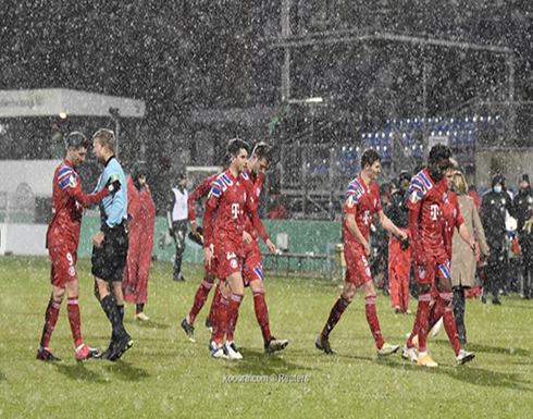بالصور: فريق درجة ثانية يفجر المفاجأة ويُقصي بايرن من كأس ألمانيا