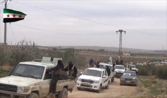 الجيش الحر يقطع طريق تقدم النظام نحو الباب
