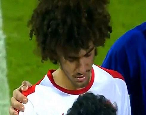 نجل أبو تريكة يجهش بالبكاء بعد إهداره ركلة جزاء في كأس قطر- (فيديو)