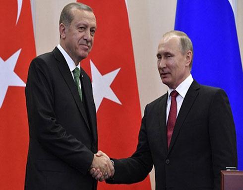 أردوغان يتوجه إلى سوتشي الأسبوع المقبل للقاء بوتين