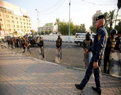 إجراءات أمنية مشددة وقطع للطرق قبل التظاهرات في بغداد