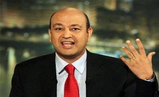 عمرو أديب يستقيل مباشرة على الهواء!