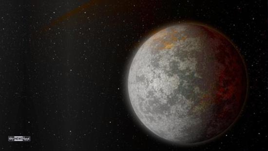 """إنفوغرافيك.. """"الأرض العملاقة"""" كوكب ضخم قابل للحياة"""