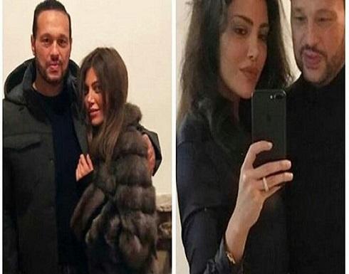 صورة رومانسية.. ريهام حجاج لزوجها: أنت كل ما أملك