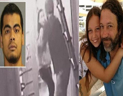 فيديو مروّع : أب أمريكي فوجئ برجل يقتحم المنزل ويمسك ابنته الصغيرة