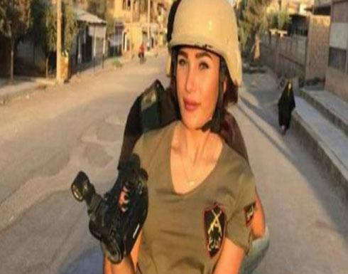 راقصة الباليه وعاشقة الأسد.. من تكون المراسلة الحربية التي أثارت جدلاً بهيئتها خلال فكّ الحصار عن دير الزور؟