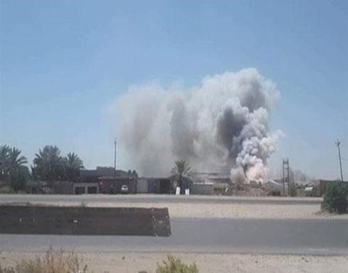 بالفيديو : انفجار غامض.. قتلى وجرحى في ميليشيات حزب الله العراقي