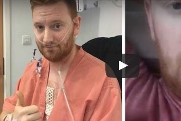 بالفيديو.. حالة نادرة لرجل يسمع دقات قلبه
