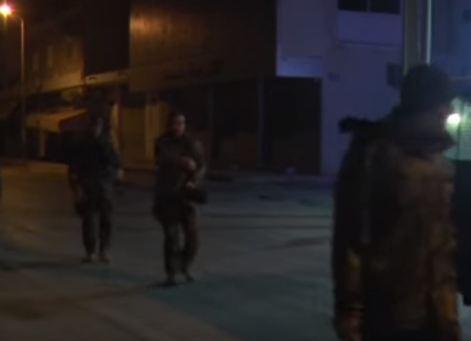 شاهد ...تجدد الاشتباكات بين قوات الأمن والمواطنين في تونس
