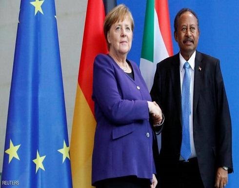 ميركل: السودان يواجه تحديات هائلة ونقف إلى جانبه