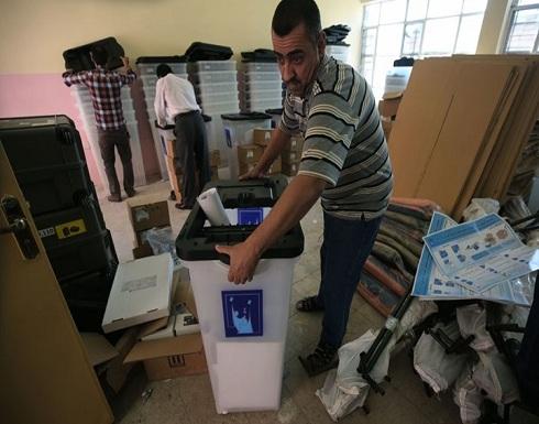 حريق هائل يلتهم صناديق انتخابات العراق قبل بدء الفرز (شاهد)