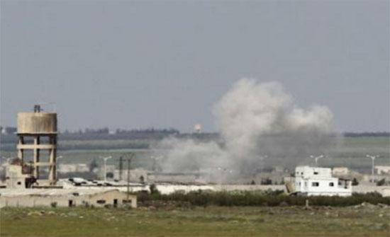 23 قتيلا في سوريا بتفجير انتحاري قرب الحدود الأردنية