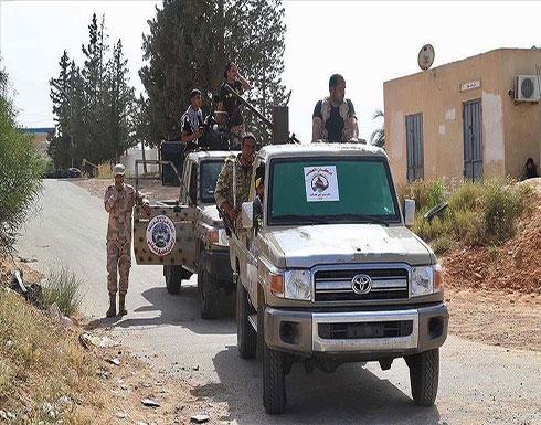 """الجيش الليبي يقصف محيط قاعدة """"القرضابية"""" بسرت"""