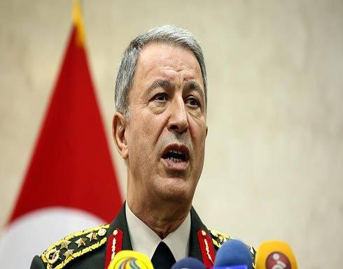 """رئيس الأركان التركي: """"غصن الزيتون"""" ترمي لتأسيس السلام في المنطقة"""