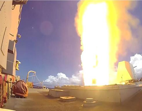 شاهد : وزارة الدفاع الأمريكية تنشر فيديو لإطلاق صاروخ في المحيط الهادئ