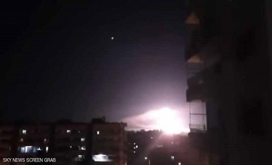دمشق تعلن التصدي لأهداف إسرائيلية قرب العاصمة
