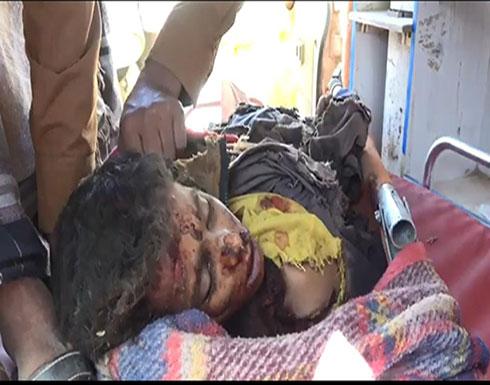 مقتل 4 أطفال و3 نساء بقصف حوثي في حجة