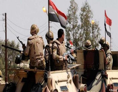 الجيش المصري يعلن مقتل وإصابة عدد من عناصره بانفجار شمال سيناء