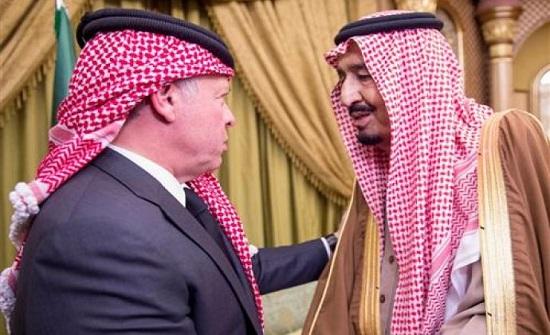 الملك سلمان : السعودية تضع كل امكاناتها في خدمة الأردن