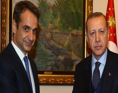 أردوغان ورئيس وزراء اليونان يبحثان عدداً من القضايا الثنائية